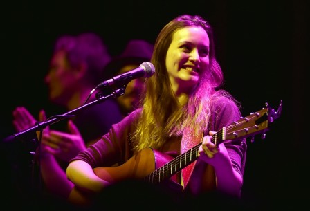 Leighton Meester Performs At Hitsville Detroit