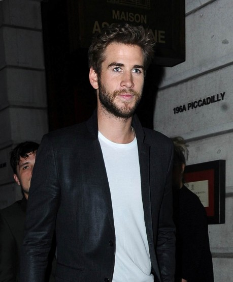 Liam Hemsworth Leaving The Hunger Games Book Launch In London Liam Hemsworth