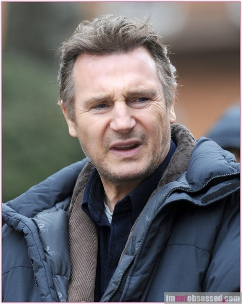 Liam Neeson Filming Walk Among The Tombstones