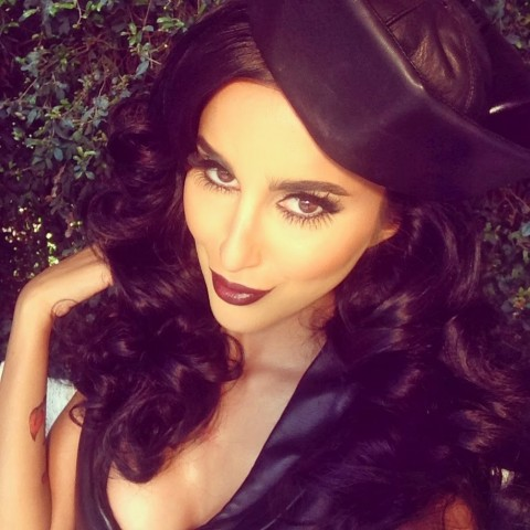 Lilly Ghalichi Lilly Lashes Halloween