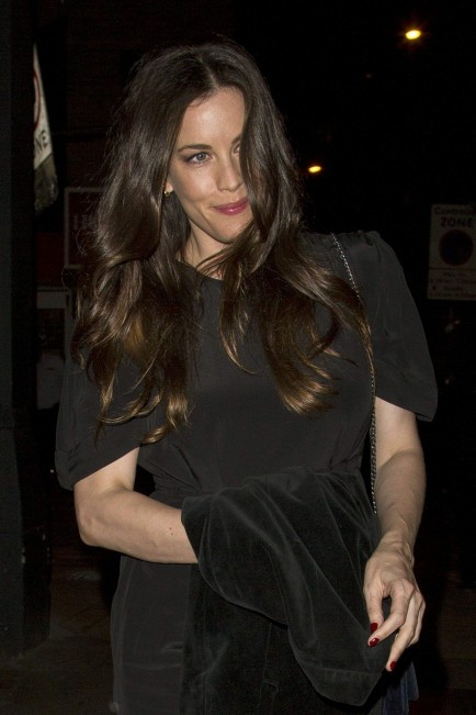 Liv Tyler Arriving To Shoreditch House In London