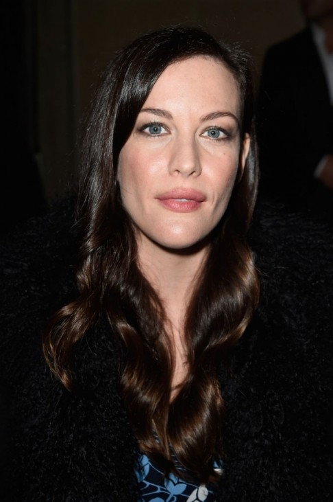 Liv Tyler At Parish Fashion Week Miu Miu Spring Summer Fashion Show Liv Tyler
