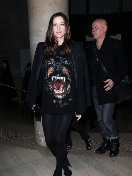 Liv Tylergivenchy Animal Face Givenchy