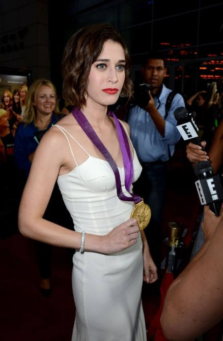 Lizzy Caplan Bachelorette Premiere In Hollywood Beach