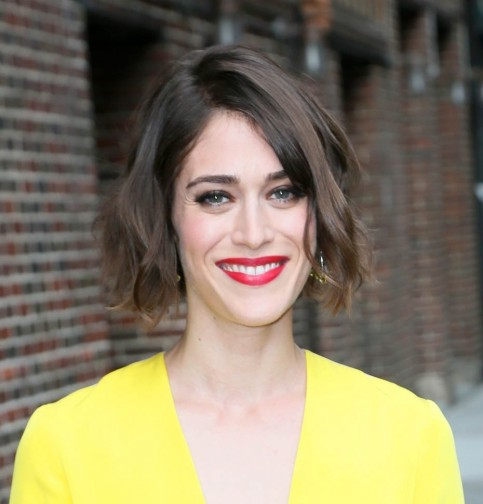 Lizzy Caplan Yellow May Lizzy Caplan