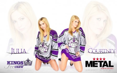 Los Angeles Kings Ice Crew Julia And Courtney