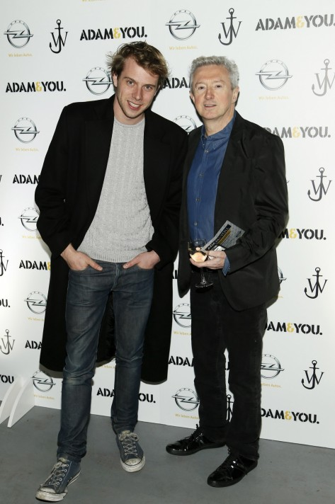 J Anderson And Louis Walsh At The Launch Of The New Opel Adam