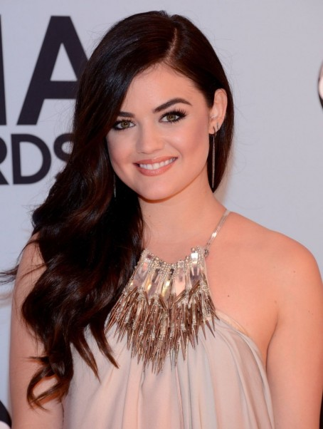 Lucy Hale At Th Annual Cma Awards In Nashville