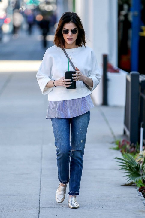 Lucy Hale Was Seen Out In Beverly Hills Lucy Hale