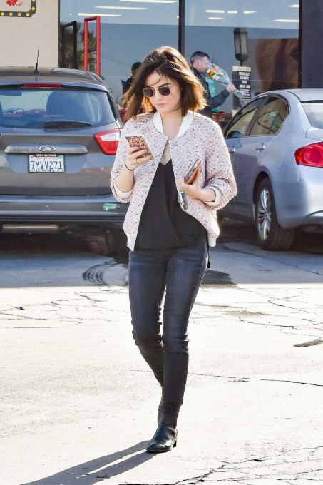 Lucy Hale Was Seen Out In La Lucy Hale