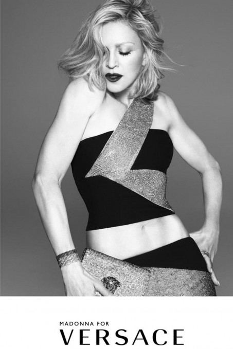 Madonna Versace Campaign Main