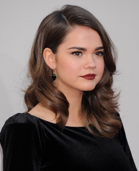 Maia Mitchell Attends American Music Awards In Los Angeles