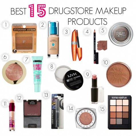 Best Drugstore Makeup Products Items