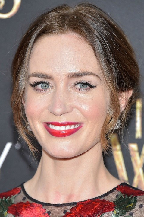 Holiday Makeup Idea Ombre Lipstick Emily Blunt Main