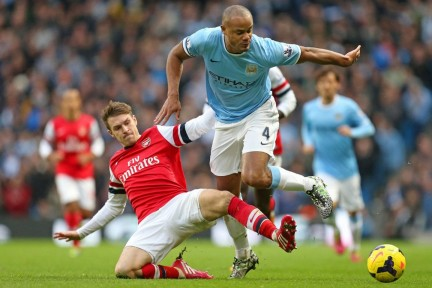 Manchester City Vs Arsenal Players