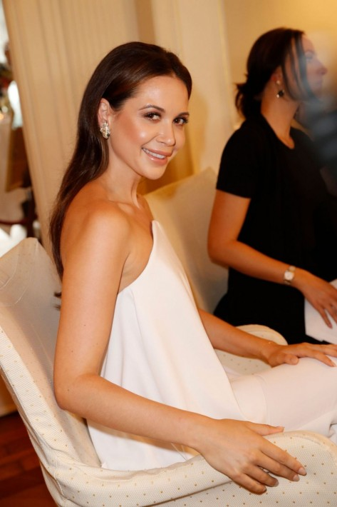Mandy Capristo At Society Relations Ladies Lunch In Hamburg Mandy Capristo