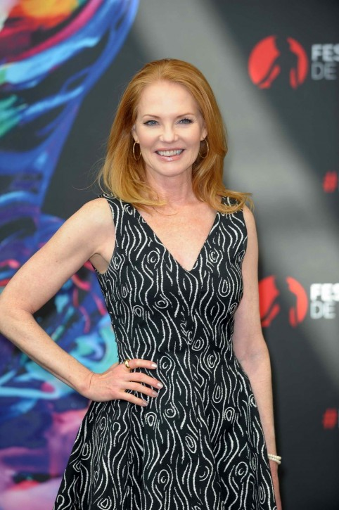 Marg Helgenberger At Monte Carlo Television Festival Photocall Marg Helgenberger