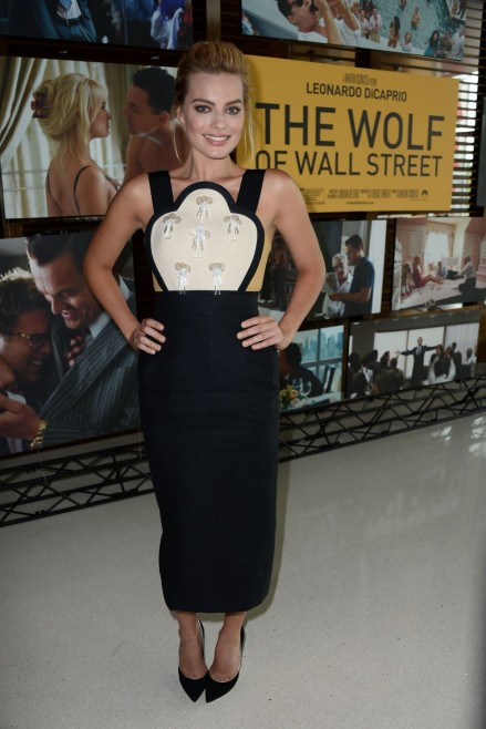 Margot Robbie At The Wolf Of Wall Street Screening In Los Angeles Wolf Of Wall Street