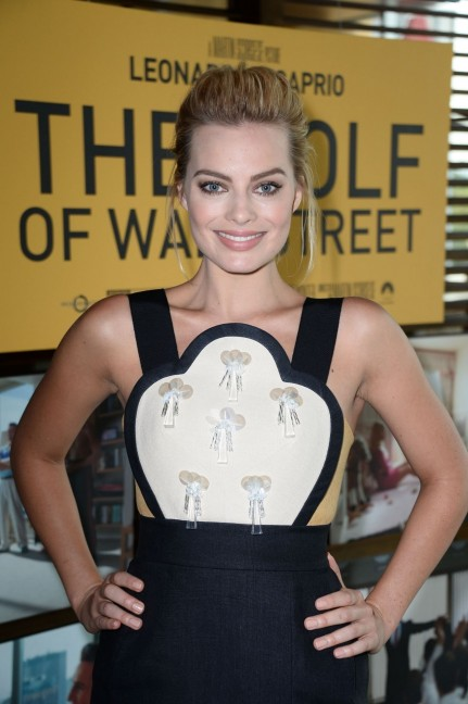 Margot Robbie At The Wolf Of Wall Street Sreening In Los Angeles Wolf Of Wall Street