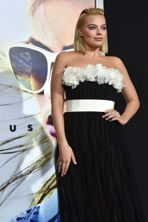 Margot Robbie Focus Movie Premiere In Los Angeles Margot Robbie