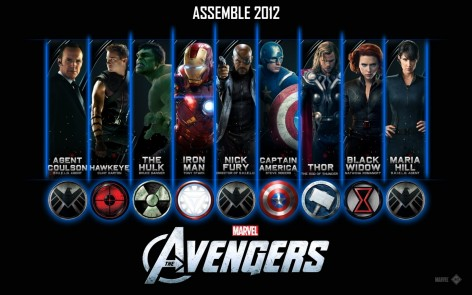 The Avengers Wallpaper Banner