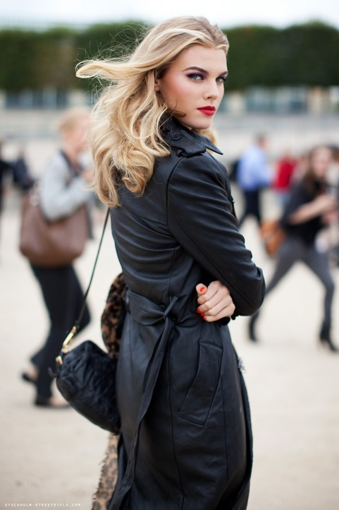 Stockholm Streetstyle Maryna Linchuk Street Style