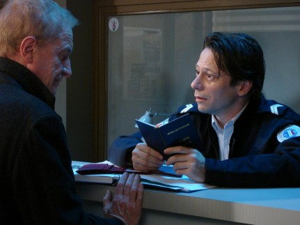 Still Of Mathieu Amalric And Andr Xe Dussollier In Ierburi Salbatice
