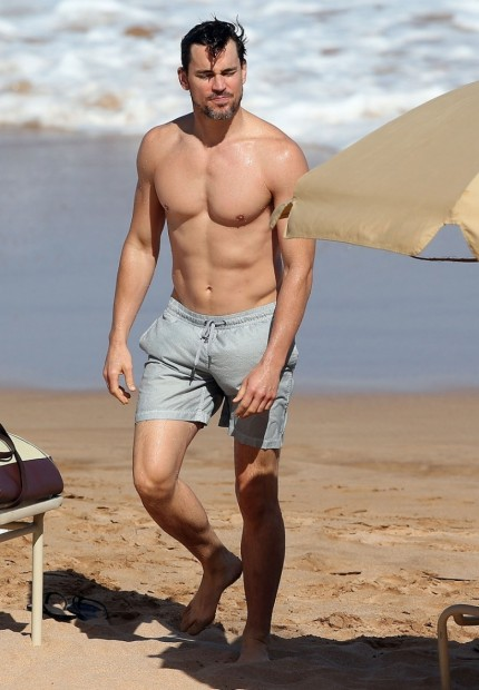 Matt Bomer Shirtless Hawaii Matt Bomer