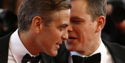 George Clooney Matt Damon Matt Damon