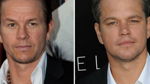 Mark Wa Berg Und Matt Damon Matt Damon
