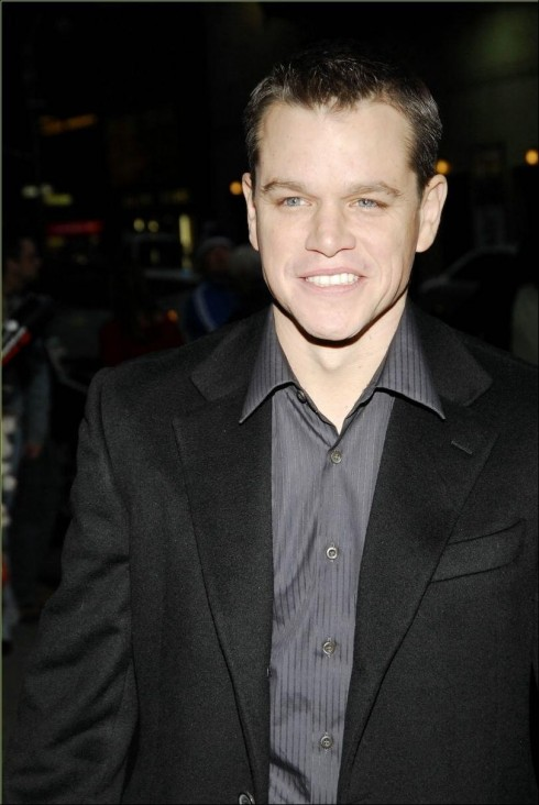 Matt Damon Coat Fashion Fashion