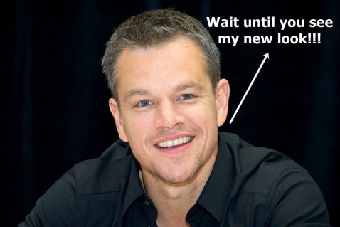Matt Damon Hairstyle Matt Damon