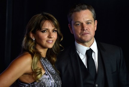 Matt Damon Luciana Barroso Matt Damon