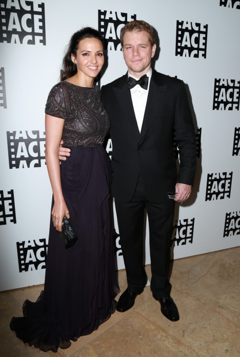 Matt Damon Luciana Barroso Wedding Anniversary Matt Damon