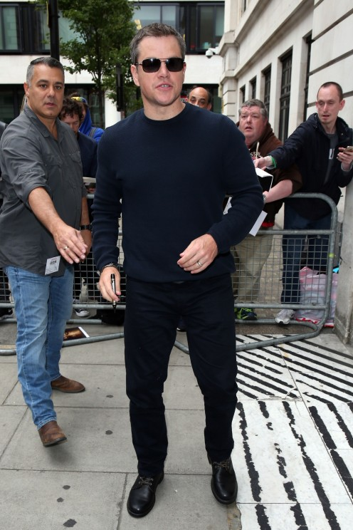 Matt Damon Sunglasses Matt Damon