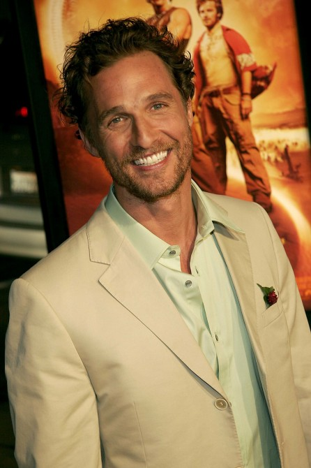 Hottie Of The Week Matthew Mcconaughey Matthew Mcconaughey At The Premiere Of Sahara Matthew Mcconaughey