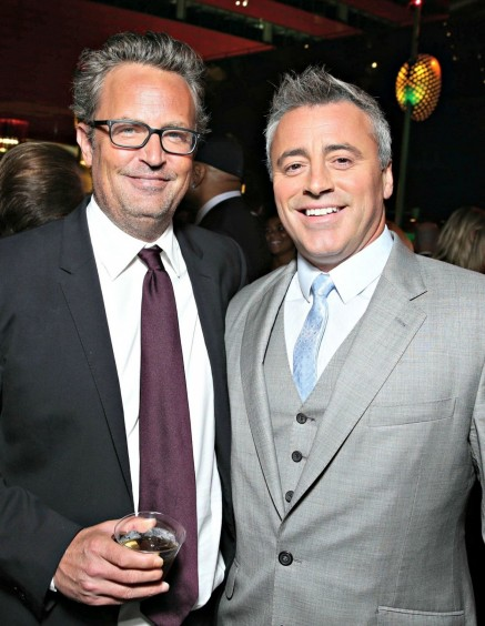 Entertainment Matt Leblanc Matthew Perry Tca Main Matt Leblanc