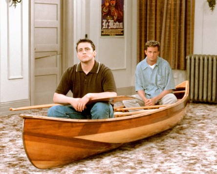 Matt Leblanc And Matthew Perry On Friends Matt Leblanc