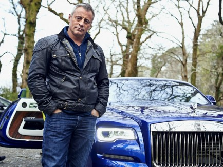 Matt Leblanc With The Rolls Royce Dawn Filming New Series Of Top Gear In Ireland Yubbc Worldwide Top Gear Gus Gregory Matt Leblanc