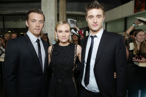 Diane Kruger Max Irons And Jake Abel At Event Of Gazda