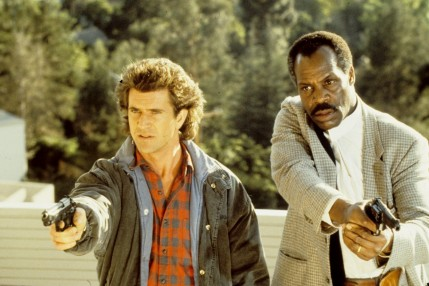 Still Of Mel Gibson And Danny Glover In Lethal Weapon Large Picture Lethal Weapon