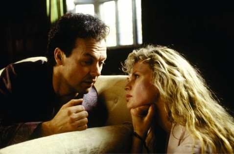 Picture Of Kim Basinger And Michael Keaton In Batman Large Picture