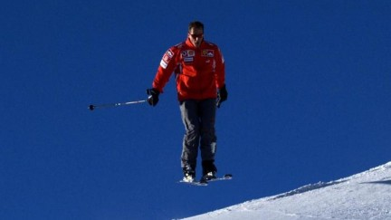 Michael Schumacher Skiing At Wrooom Ski Press Meeting In Madonna Di Campiglio Michael Schumacher