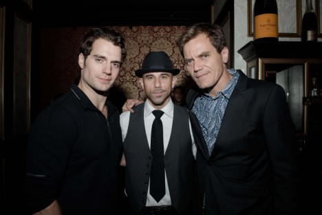 Henry Cavill Billy Dec Michael Shannon Arot Gala Photo By Chris Zoubris Michael Shannon