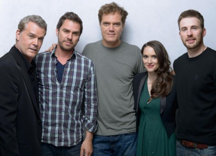 Winona Ryder Ray Liotta Chris Evans Michael Shannon And Ariel Vromen At An Event For The Iceman Large Picture Michael Shannon