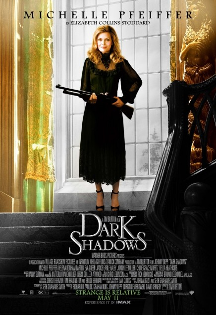 Dark Shadows Movie Poster Michelle Pfeiffer Movies