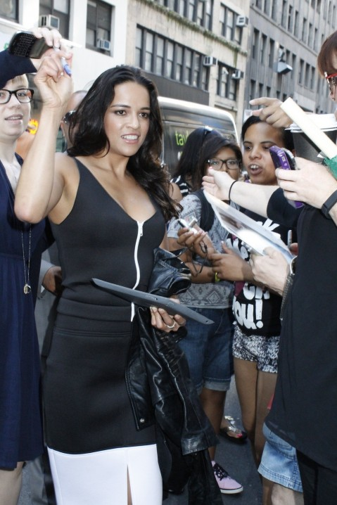 Michelle Rodriguez Nbc Today Stills Fashion