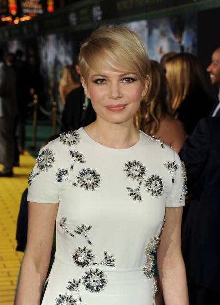 Michelle Williams At Oz The Great And Powerful Premiere In Hollywood