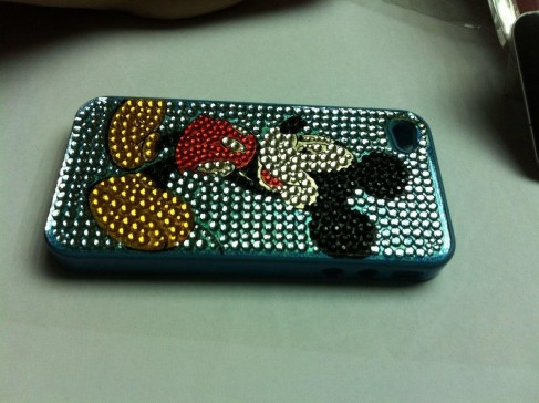 Apple Iphone Mickey Mouse Bling Bling Hardcase Free Screenprotector Ecisolution Ecisolution Mickey Mouse