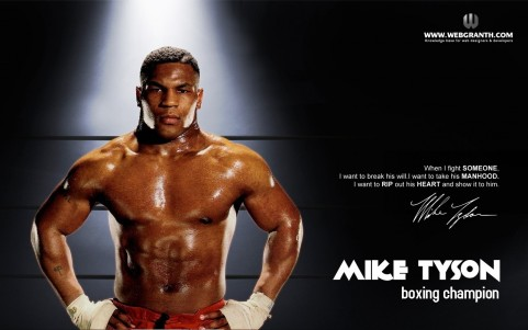 Boxing Knockout Mike Tyson Wallpaper Mike Tyson